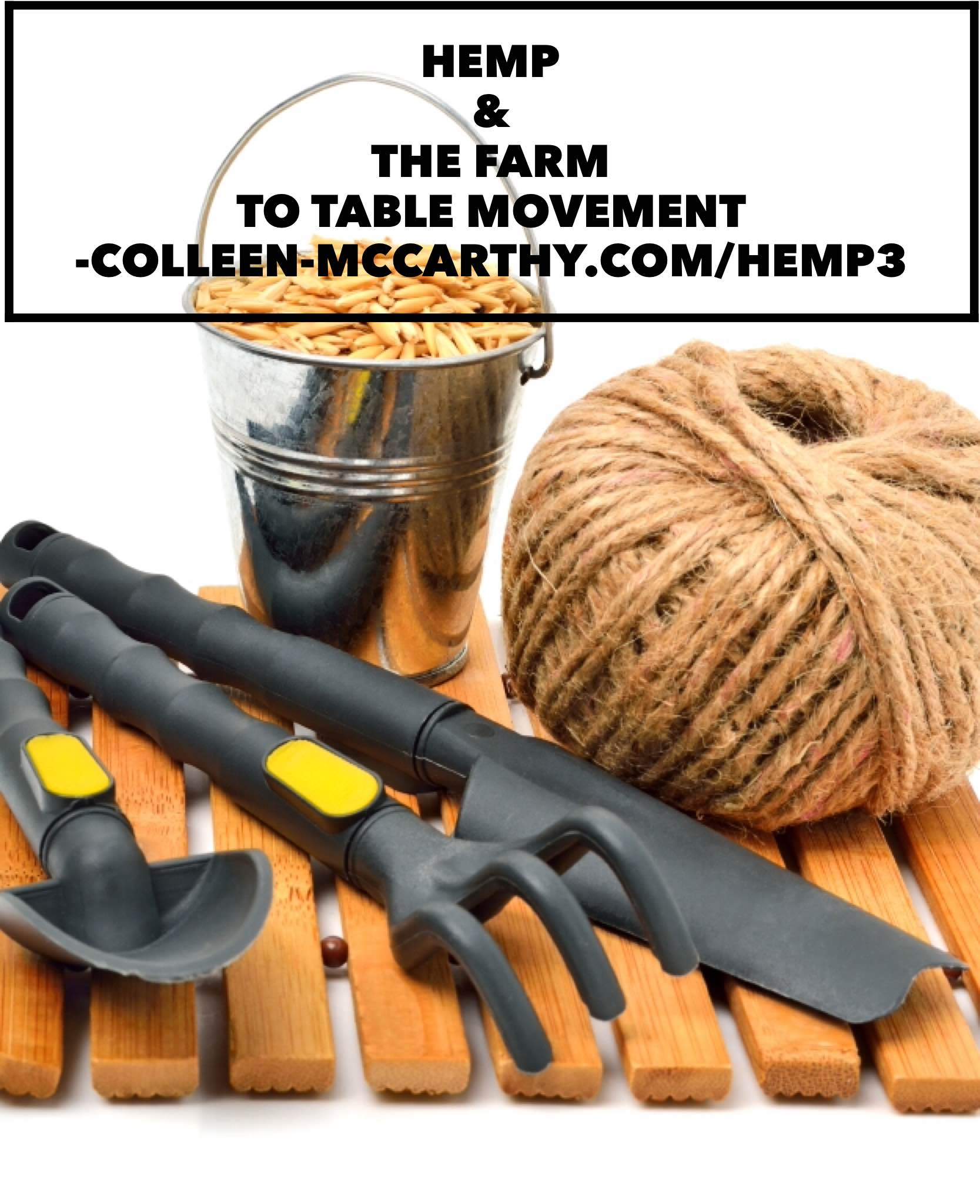 Hemp—Part 3—Hemp and the farm to table movement